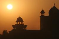 Dawn at the Taj Mahal, Agra, India