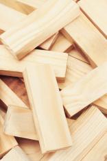 wooden building blocks background
