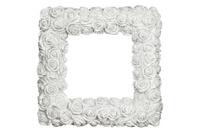 White Roses Frame