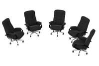 Isolated office armchairs 06