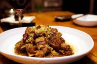 Korean style marinated beef short ribs