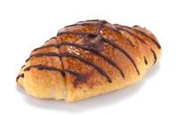 Croissant con cioccolato