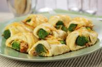Cheesy chicken and broccoli bites