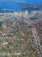 Perth City Aerial View 1