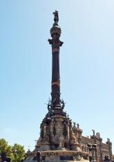 Barcelona - Column of Christopher Columbus
