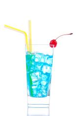 Blue curacao based cocktail