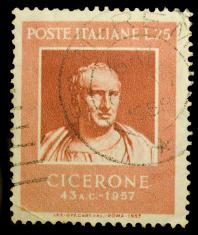 Cicero vintage stamp
