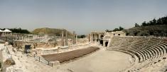 Antique Roman Amphitheater