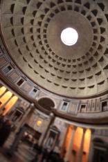 Patheon interior, Rome Italy
