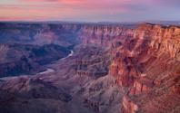 Grand Canyon Desert View at Dusk