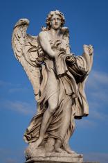 Ponte Sant Angelo Bridge Angel