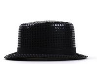 Black Men Hat with Sequins