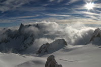 Noon in the Alps