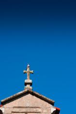 Dove on a cross