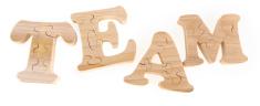 Team - Puzzle Letters