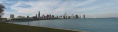 Chicago Skyline - Panoramic