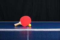 ping pong table tennis ball rachet net