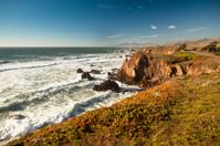 USA, California, Big Sur, Coastline and sea