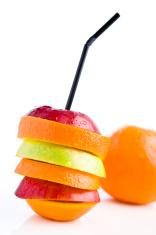 beautiful juicy fruits