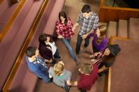 Church Youth Group Circle