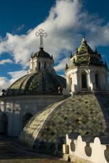 compañia jesus de Quito domes