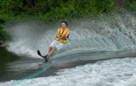 waterskier