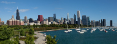 Panorama of Chicago Downtown XXXL