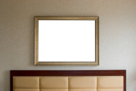 Headboard and picture frame