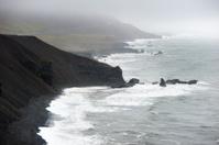 icelandic seascape