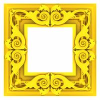 3d gold framework
