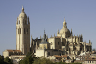 Cathedral in Segovia