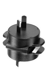 Two pin electric plug