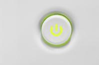 Power button white
