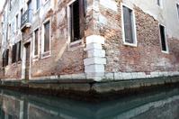 Building corner in Venice, Italy