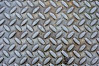 Dirty Steel Diamond Plate