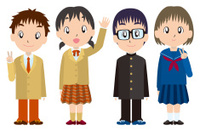 Students in the 1st grade of high-school(中学1年生)
