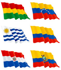 Venezuelan, Bolivian,  Paraguayan, Colombian, Ecuadorian and Uru