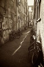 Parking of bikes