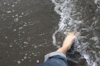Foot Sea Sand