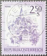 Austrian Castle Postage Stamp