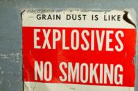 Explosive Grain Dust