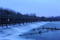 Weir at Teddington Lock