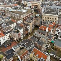 Downtown district Utrecht