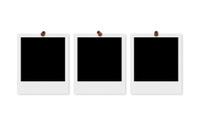 Polaroid Frames & Thumbtacks