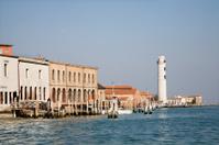 Venice - lighthouse from San Murano island