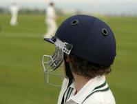 Batsman's helmet