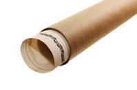 Document into a cardboard tube