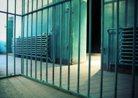 View Inside a Prison Cell