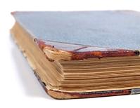 Old book closeup