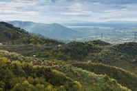 Hills in northern Toscana